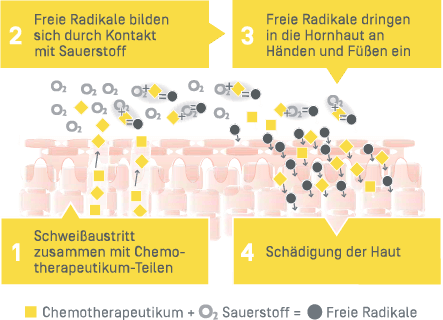 Chemo - Chemotherapeutikum - Grafik